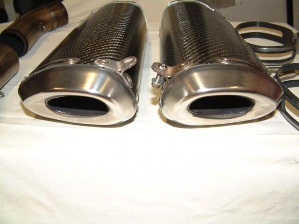 Termignoni Carbon Schalldämpfer Set Racing