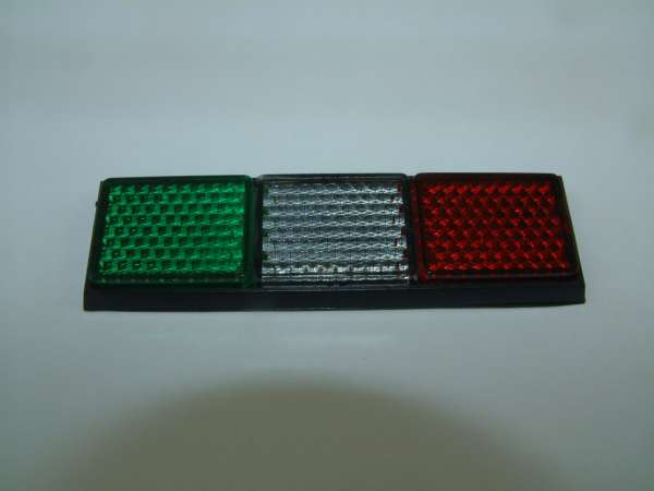 Reflektor Grün Weiß Rot