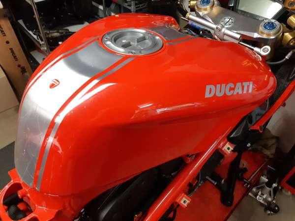 Ducati Aluminium Tank